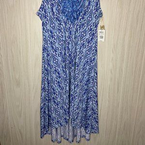 World Unity Dresses - NWT World Unity High Low Dress Blue Womens Size M
